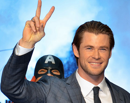 thor chris Chris Hemsworth in Giappone per Thor: The Dark World