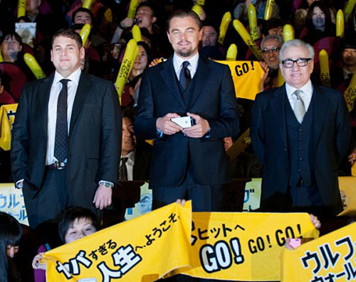 wolfgiap1 Leonardo Di Caprio a Tokyo per The Wolf of Wall Street