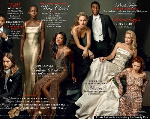 VanityFair2 Julia Roberts e gli altri protagonisti di Vanity Fair Hollywood Issue