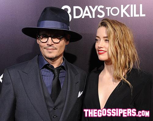 amber depp Johnny Depp e Amber Heard: La differenza detà non è un problema