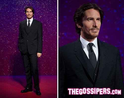 bale cera2 Il Madame Tussauds celebra Christian Bale con una statua