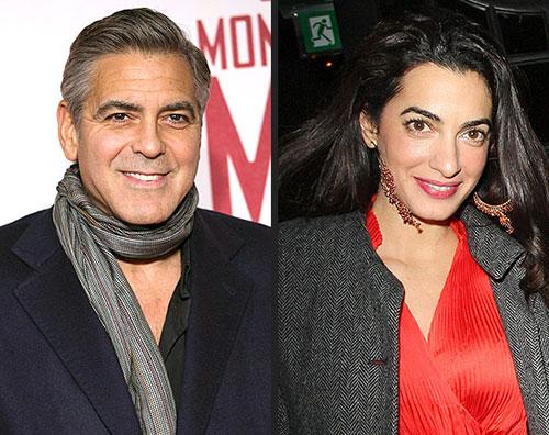 cloone Ecco lanello di fidanzamento scelto da George Clooney