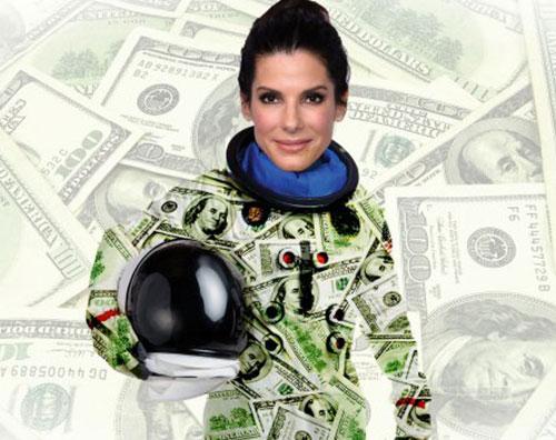 gravitysandra Sandra Bullock, 70 milioni di euro per Gravity