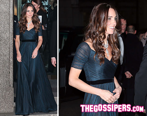 middleton1 Kate Middleton madrina del Royal Portrait Gala