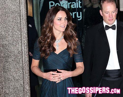 middletonz Kate Middleton madrina del Royal Portrait Gala