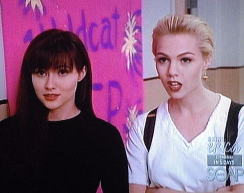 90210 Jennie Garth e la quasi rissa con Shannen Doherty