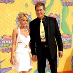 HayleyRoberts DavidHasselhoff 150x150 Kids Choice Awards 2014: tutte le celebrity sul red carpet