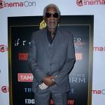 MorganFreeman 150x150 CinemaCon 2014: celebrity e future mamme sul red carpet