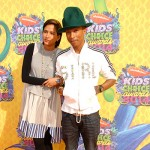 PharrelWilliams HelenLasichanh+ 150x150 Kids Choice Awards 2014: tutte le celebrity sul red carpet