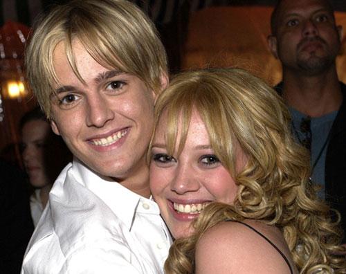 aaron Aaron Carter vuole riconquistare Hilary Duff