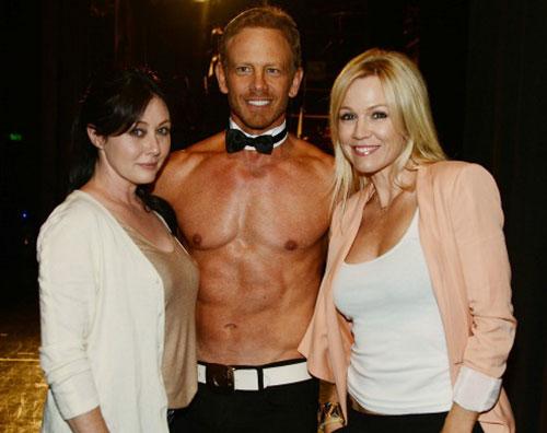 jennie shannon2 Jennie Garth e la quasi rissa con Shannen Doherty