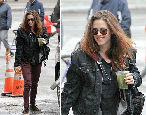 kristen Kristen Stewart sul set di Still Alice