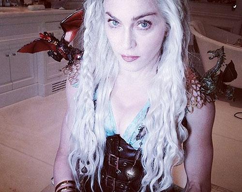 madonna Madonna è una fan di Game of Thrones