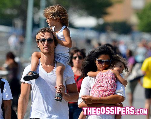 matthew Matthew McConaughey vuole un altro figlio