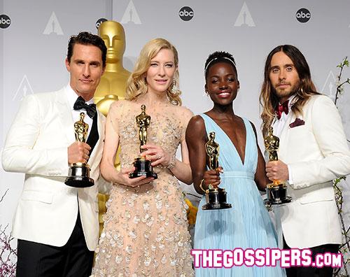 oscar vincitori Oscar 2014: il miglior film è 12 anni schiavo