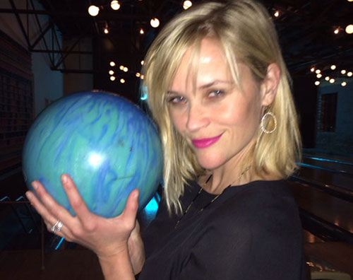reese.bowling Compleanno al bowling per Reese Witherspoon