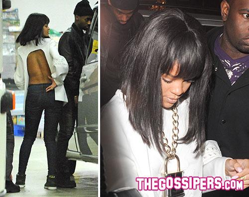 rihanna drak2 Rihanna e Drake insieme al Cirque le Soir