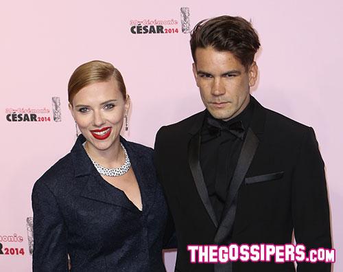 scarlett roman Scarlett Johansson si è sposata