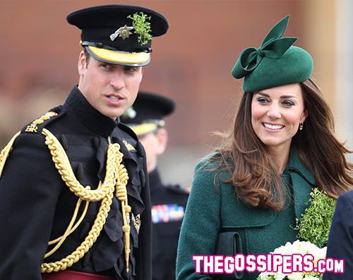 tg kate2 Kate Middleton cambia look alla parata di San Patrizio