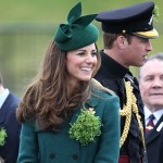 tg kate8 150x150 Kate Middleton cambia look alla parata di San Patrizio
