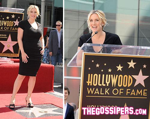 winslet2 Kate Winslet riceve una stella sulla Walk of Fame