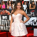 ChristineTeigen 150x150 MTV Movie Awards 2014: le foto dal red carpet