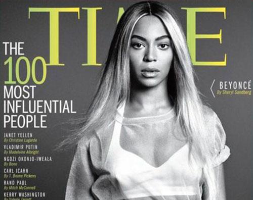 beyotime Beyoncé criticata per la copertina del TIME
