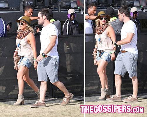 coachella duff Hilary Duff al Coachella con lex marito