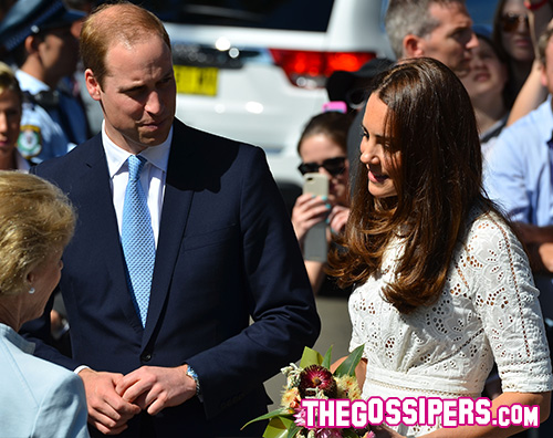 cover Kate Middleton in bianco a Sydney