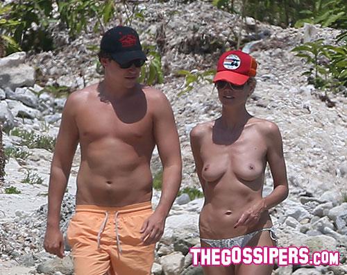heidi topless Heidi Klum in topless con il nuovo fidanzato
