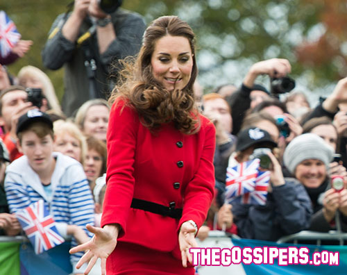 kate 1 William e Kate si danno al cricket in Nuova Zelanda