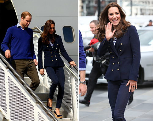 kate2 Kate Middleton una marinaretta ad Auckland