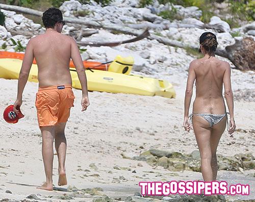 klum topless3 Heidi Klum in topless con il nuovo fidanzato