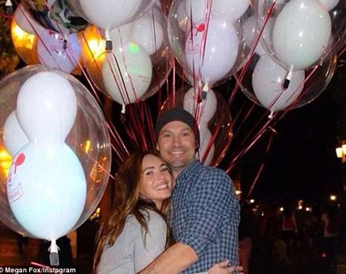 megan brian Pasqua a Disneyland per Megan e Brian