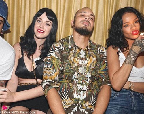 rihanna2 Katy e Rihanna alla stessa festa di compleanno