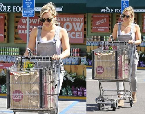 spesaduff Hilary Duff fa la spesa da Whole Foods
