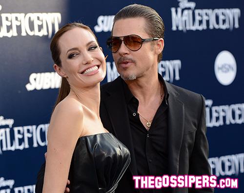 Cover7 Brad Pitt aggredito alla premiere di Maleficent