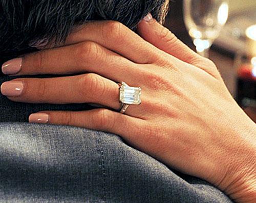 amal anello Ecco lanello di fidanzamento scelto da George Clooney