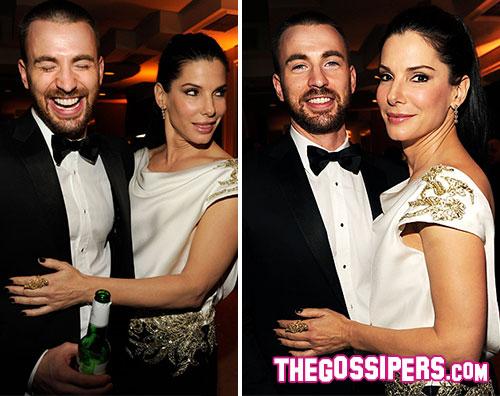 evans bullock Sandra Bullock smentisce la relazione con Chris Evans