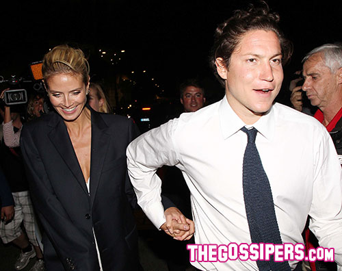 heidi vito1 Heidi Klum a Cannes con il nuovo fidanzato