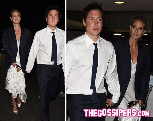 heidi2 Heidi Klum a Cannes con il nuovo fidanzato