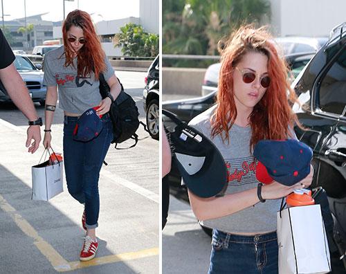 kristen Kristen Stewart di nuovo a Los Angeles dopo il Festival