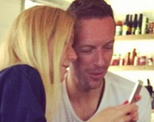 Chris e Gwyneth Gwyneth Paltrow pazza di gelosia per Chris Martin