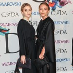 Elizabeth e Mary Kate Olsen 150x150 Le trasparenze di Rihanna protagoniste dei CFDA 2014