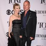 Sting e Trudie Sryler 150x150 Adam Brody e Leighton Meester ai Tony Awards 2014