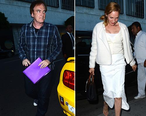 Uma Uma Thurman e Quentin Tarantino sono una coppia?