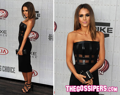alba2 Jessica Alba splendida per i Guys Choice Awards