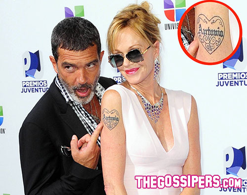 antonio melanie1 Melanie Griffith chiede il divorzio ad Antonio Banderas