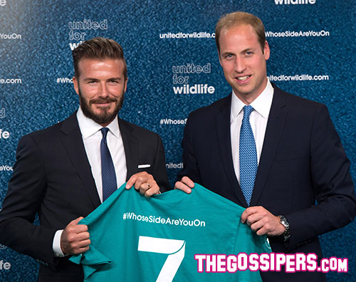 beckham1 Il principe William e Beckham uniti per una buona causa