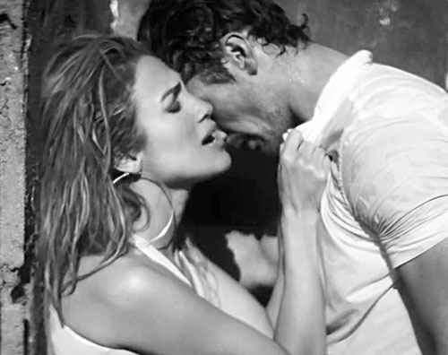 jennifer gandy3 Jennifer Lopez e David Gandy hot per un nuovo video